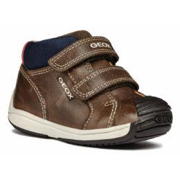 """Minőségi, kényelmes, viaszos bőr Geox gyerekcipő, """"lélegző"""" talppal"""