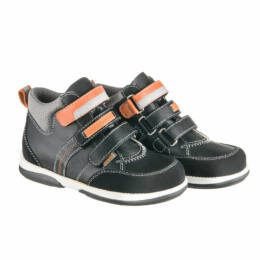 Memo polo fekete szupinált gyerekcipő