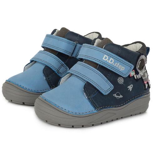 Tépőzáras, vízlepergetős valódi bőr D.D.step gyerekcipő