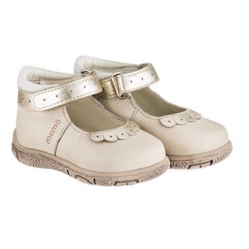Bőrbéléses, könnyed Memo gyerekcipő az első lépésekhez