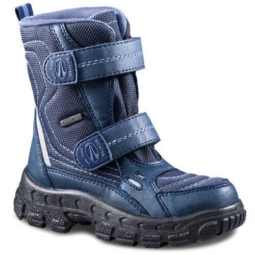 Vízálló, szőrmével bélelt, meleg, téli cipő