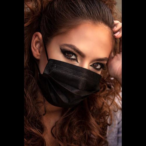 Négyrétegű Legal Beauty egészségügyi szájmaszk,  gyári gyűjtőcsomagolásból